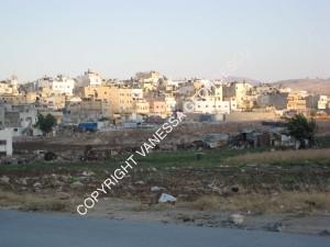 Camp de réfugiers Askar à Nablus, Palestine