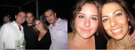 Basar, Mert, moi, Adil / moi et Digdem mes amis turcs que j'adore