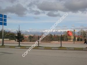 chemin de Erzurum à Doğubeyazıt en Turquie