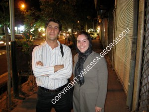 Mahdi et moi à Téhéran