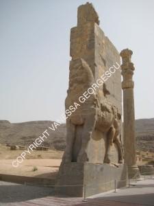 Entrée de Persepolis, Iran