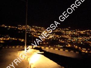 ville de Petra la nuit