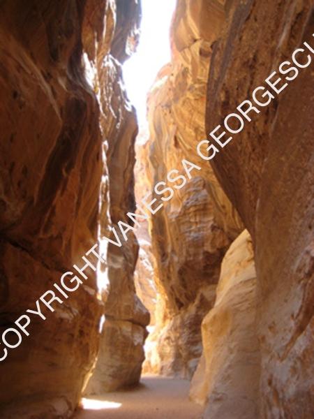 Entrée de Petra, Jordanie