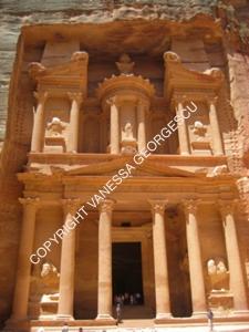 Al-Khazneh, trésorie de Petra, Jordanie