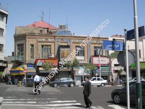 rue Ferdosi à Téhéran, Iran