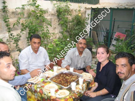 Diner à Nablus avec les fondateurs du camp Askar