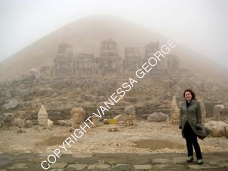 Tête de Dieu à 2100m, Mont Nemrut Turquie