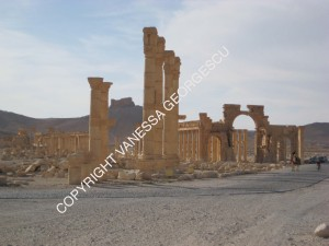 Ruines de Palmyra, Syrie