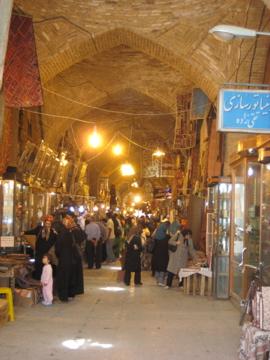 souq de Esfahan, Iran