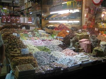 Turkish Delight, souq de Istanbul, Turquie