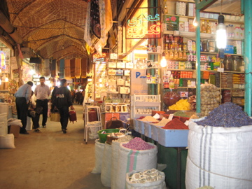 souq de Tabriz, Iran