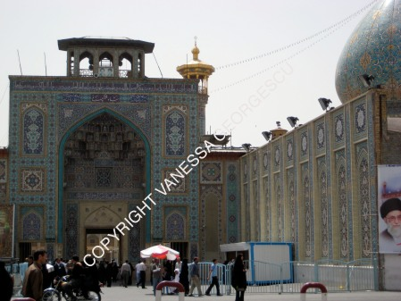 Une des mosquée de Shiraz, Iran