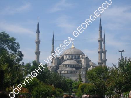La mosquée bleu de Istanbul, Turquie