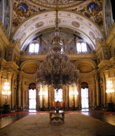 Hall de cérémonie du palais Dolmabahçe