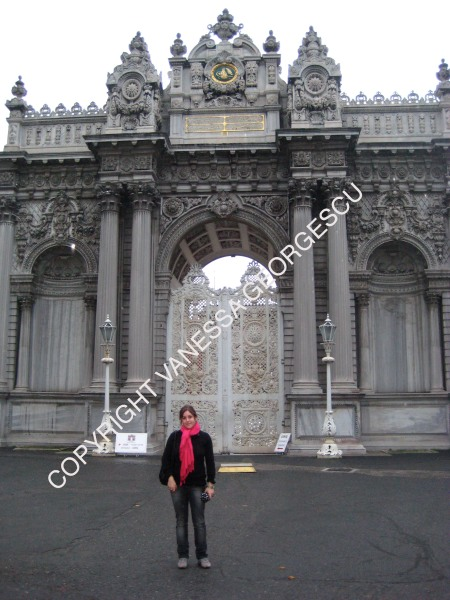 Palais Dolmabahce, Janvier 2010