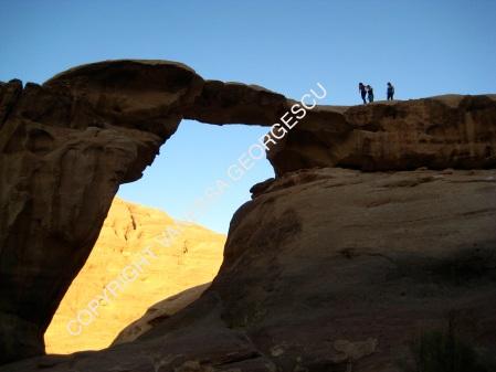 Je suis la troisième! Wadi Rum, Jordanie