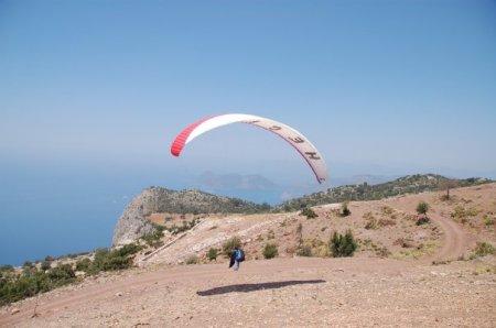 parapente à Olüdeniz, Turquie